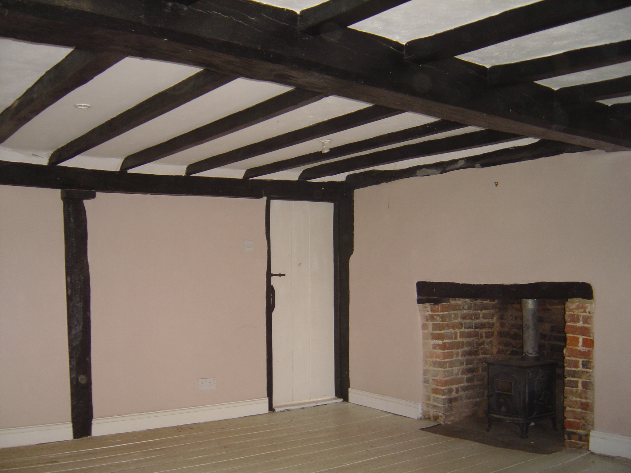 Beams Fireplace 2 - Wood