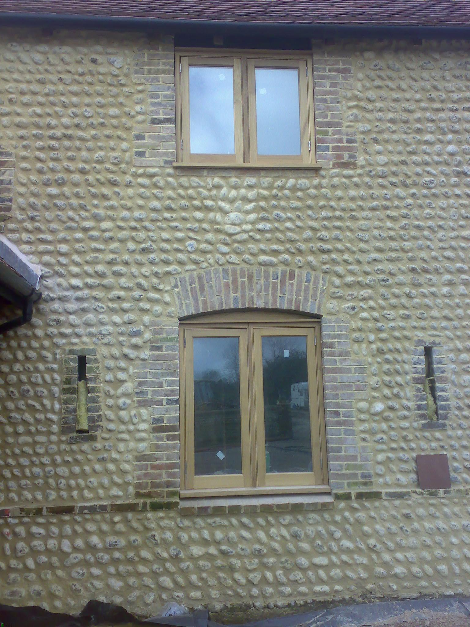 Flint House 1 - Brickwork & Stone