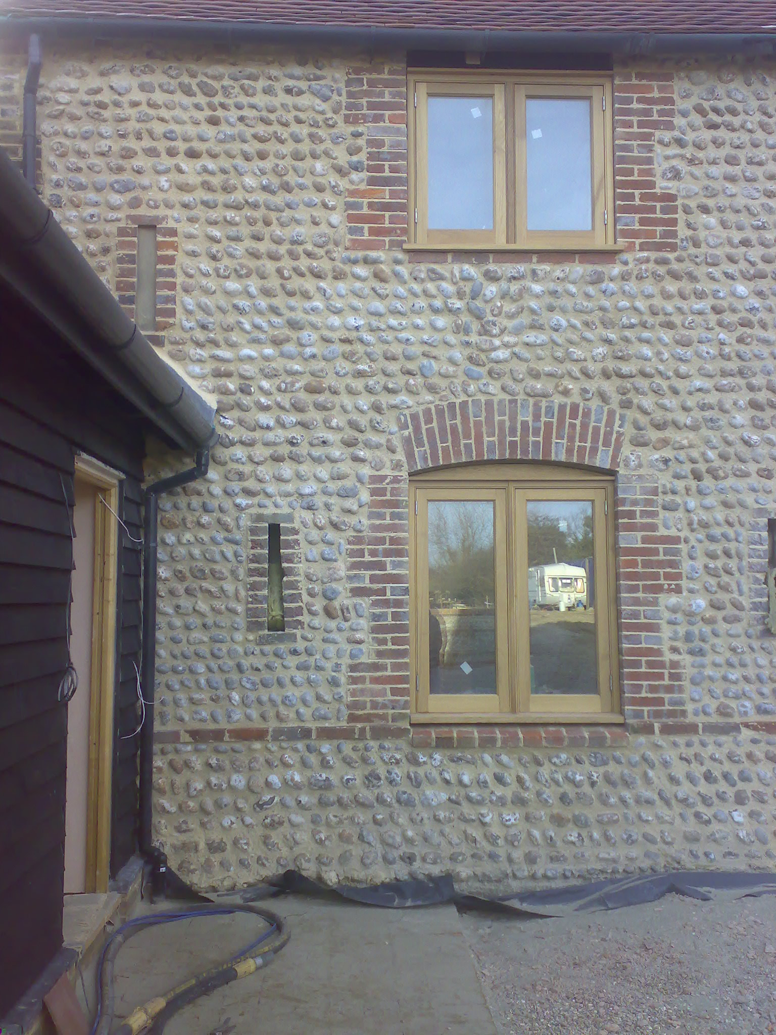 Flint House 2 - Brickwork & Stone
