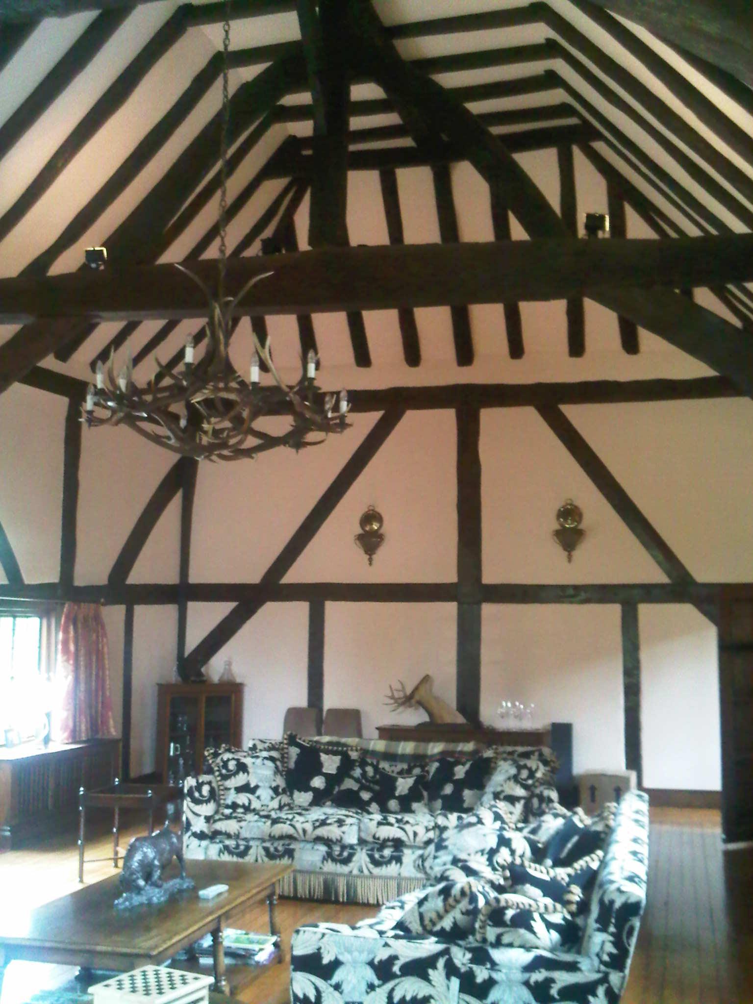 Oak beams 1 - Wood