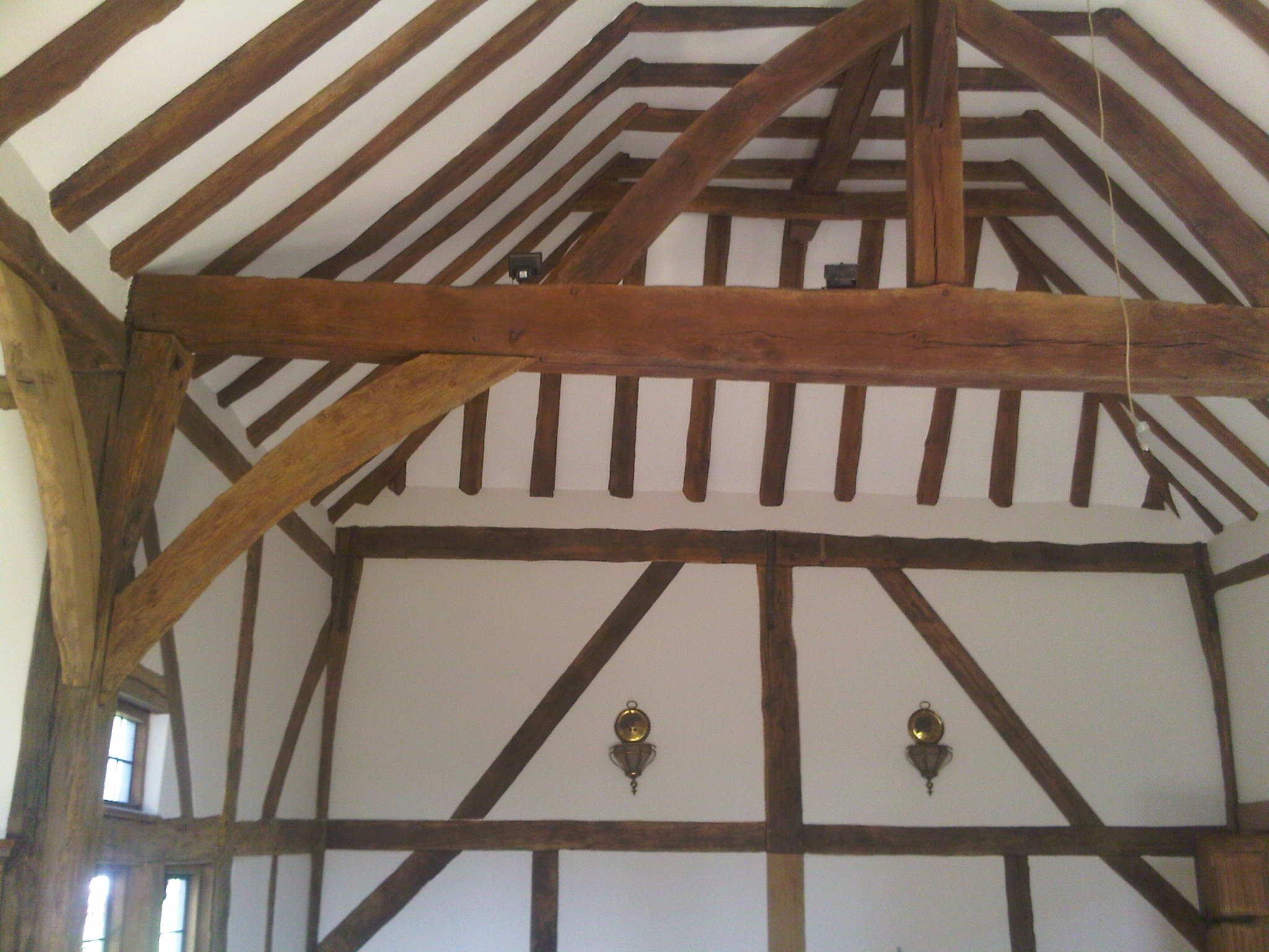 Oak beams 2 - Wood